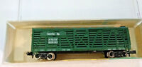 N scale Minitrix Santa Fe Cattle Stock boxcar