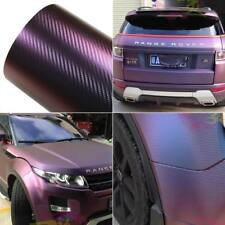 0.5M*1.52M Chameleon Carbon Fiber Vinyl Film Wrap Car Decal Sheet Sticker Films