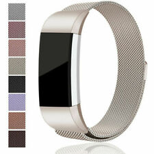 For Fitbit Charge 2 Strap Replacement Milanese Band Metal Stainless Steel Magnet