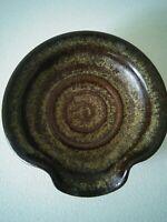 Pottery Stoneware Spoon Rest Dish