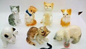 A SET OF 12 DANBURY MINT CATS OF CHARACTER