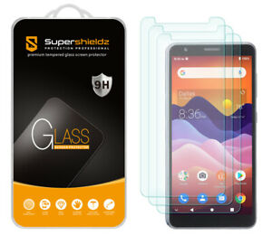 [3-Pack] Supershieldz Tempered Glass Screen Protector for ZTE Avid 579