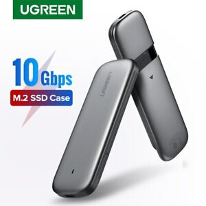 Ugreen M2 SSD Case M.2 SSD Adapter For NVME PCIE NGFF SATA M/B Key Hard Disk