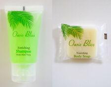 Travel Size Hotel Shampoo & Soap Value Set: 50 pieces Shampoo + 50 pieces Soap