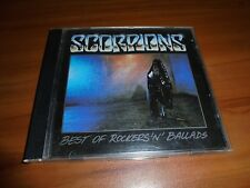 The Best of Rockers 'N' Ballads by Scorpions (CD, 1989, Polygram) Used ORG Press
