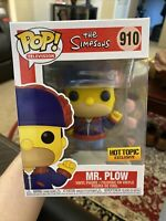 Funko POP! The Simpsons HOMER SIMPSON MR PLOW Hot Topic Exclusive IN STOCK  NEW