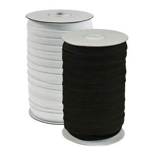 50m Gummiband gewoben Gummilitze elastisches Band Wäschegummi Variantenwahl