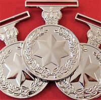 10 x ARMY NAVY AIR FORCE AUSTRALIAN ACTIVE SERVICE MEDALS 1975-2011 REPLICA