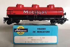 *ERROR* ATHEARN MOBILGAS HO Scale Passenger Car LOS ANGELES CA Train 3 Dome Tank
