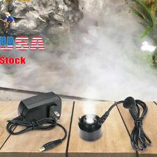 Ultrasonic Mist Maker Fogger Water Fountain Pond Atomizer Air Humidifier Fresh