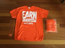 """Flyers """"Earn Tomorrow Playoff Shirt and other giftaways - Size XL - New"""