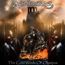 Achelous ‎– The Cold Winds Of Olympus CD RARE self released Epic power metal