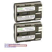 Kastar Replacement Battery for Canon BP-511 CG-580 & Canon Optura 10 Optura 20