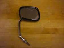 Royce Union Bicycle Mirror With Reflector Black & Chrome