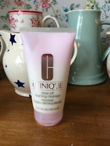 NEW ⭐️⭐️CLINIQUE⭐️⭐️RINSE-OFF FOAMING CLEANSER MOUSSE ~ Full Size 150ml