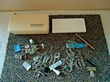 Vintage Plastic Kenmore Attachments Box With Some Attachments / Other Misc.Items