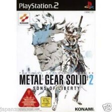 Used PS2 Metal Gear Solid 2: Sons of Liberty SONY PLAYSTATION JAPAN IMPORT