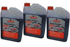 3 X Nigrin® Performance Felgenreiniger EvoTec 3L Alufelge Felge Reiniger Kfz Neu