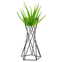 Tabletop Metal Air Plant Pot Holders Stands Plant Containers Flower Rack