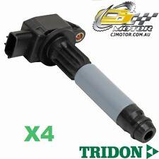 TRIDON IGNITION COIL x4 FOR Nissan Pulsar N16 07/00-06/03, 4, 1.8L QG18DE