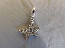 AGATHA PENDENTIF BRELOQUE ETOILE ZIRCONIUM CZ EN ARGENT MASSIF 925 CHARM'S STAR