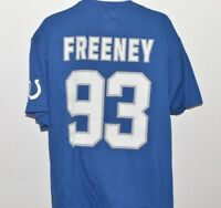 Indianapolis Colts Jersey T-shirt Mens Size XL 93 Dwight Freeney NFL Football