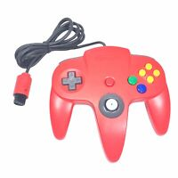Nintendo 64 (NUS-005) OEM N64 Controller - RED - TESTED