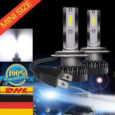 2x 55W MINI H7 LED Auto Scheinwerferlampe Lampen Ersatz Kit Weiß Licht 20000LM