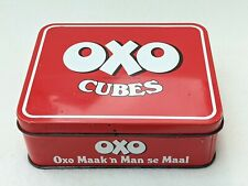More details for afrikaans oxo tin vintage pretoria 1970s oxo blokkies cubes    south africa
