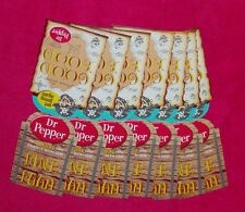 8 Vintage mid-1960s Dr Pepper Table Tents - Pirate/Treasure Map - New/Unused!
