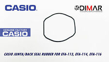 CASIO GASKET/ BACK SEAL RUBBER, FOR MODELS EFA-113, EFA-114, EFA-116