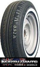 185/70x13 185X13 1857013 185/70/13 185/70R13 GALAXY 20MM WHITEWALL ESCORT CAPRI