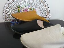 Moroccan Round toe Babouches Variations*****(women slippers)