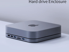 SATA Hard Drive Enclosure USB 3.0 Hub Mac Mini MacBook Pro Type-C SSD HDD 2020