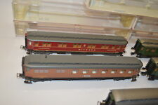 4893# Fleischmann H0 Personenwagen 5 Stück 5083 5082 5079 5081 5078 in OVP