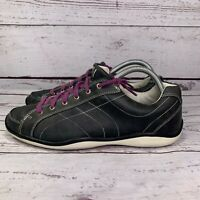 Footjoy Womens 97261 LoPro Leather Spikeless Black Golf Shoes Size 9 M