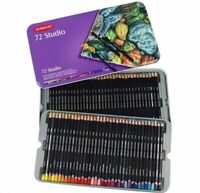 DERWENT Studio 72 Colour Pencils in Tin Art Drawing Crafts Adult Colouring Books
