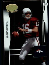 2003 Leaf Certified Materials Football Base Singles (Pick Your Cards)