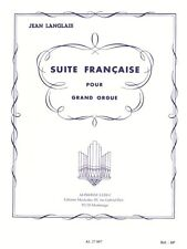 Jean Langlais Suite Française Organ Classical Organ Learn to Play MUSIC BOOK
