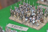 28mm napoleonic / french - regiment 32 figures plastic - inf (33084)