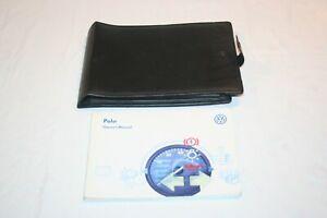 VW POLO MK3 OWNERS MANUAL / USER HANDBOOK WALLET,  1995-1999. PRINT DATE 05/1997