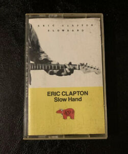Eric Clapton Slow Hand Cassette Tape 1977 RSO Polygram Cocaine Lay Down Sally