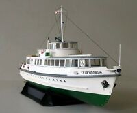 3D DIY PAPER MODEL 1/100 Scale Polish Baltic Fleet Coastal Ferry Lilla Weneda