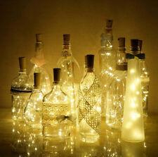 10er 20 LEDs Flaschenlichter Lichterketten Lichter Stimmungslichter Weinflaschen