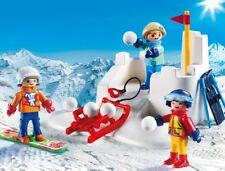 PLAYMOBIL® 9283 Snowball Fight - NEW 2017 - S&H FREE WORLDWIDE
