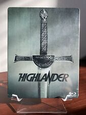 HIGHLANDER There Can Only Be One Steelbook (Blu-ray, 1986) Factory Sealed