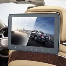 """10"""" LCD Car Headrest Active Monitor MP5/USB Player Video Radio Game Headsets"""