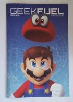 GEEK FUEL Magazine Mario Cover Best Of Nintendo Issue 36 January 2018 New!