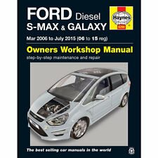 Ford S-Max and Galaxy 1.6 1.8 2.0 2.2 Diesel 2006-15 Haynes Workshop Manual