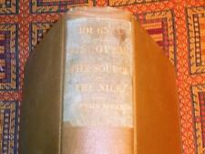 XRARE: 1864 Journal of the Discovery of the Source of the Nile pocket map 1st ed